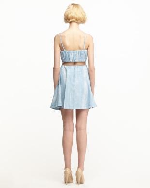 ブルー  キャミ×スカートSET見る