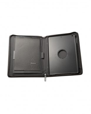 グレー  マイクロファイバー iPad Airケース見る