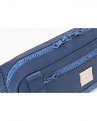 ブルー  Waist Bag ウエストバッグ見る