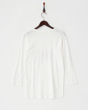 ホワイト スプリング長袖Tシャツ見る