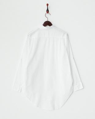 WHITE  オーバーサイズドシャツ B見る