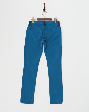 BLUE  STRETCH TWILL PANTS見る