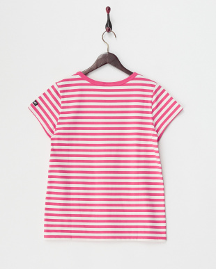 PINK  BASIC STRIPED S/S TOP見る