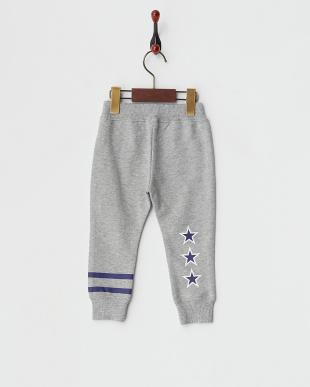 ASH  SWEAT LONG PANTS STRIPE & STAR|BABY見る