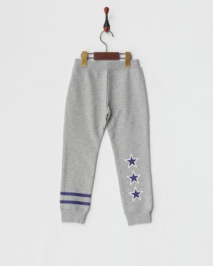 ASH SWEAT LONG PANTS STRIPE & STAR|KIDS見る