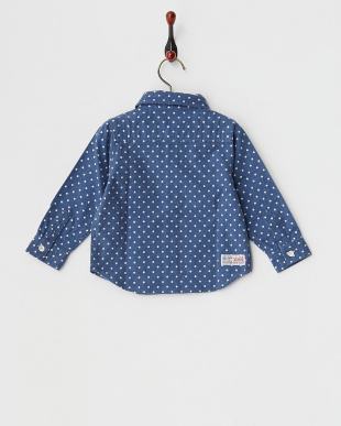 NAVY  COLORFUL SHIRT|BABY見る