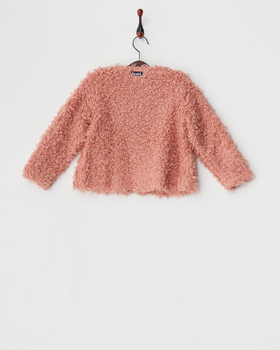PINK  SHAGGY JACKET|KIDS見る