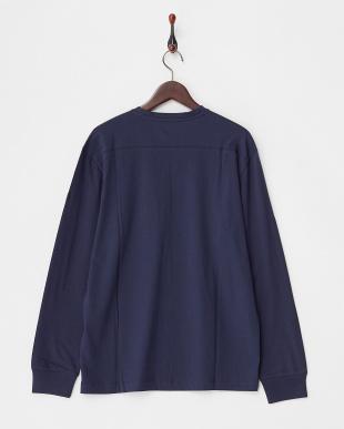 BLUE  ロングスリーブTシャツ A見る