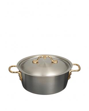 ブラック オール熱源対応アルミ蒸籠セット(21cm)見る