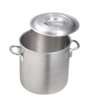 ガス専用 ニューキングポットアルミ打出し寸胴鍋(24cm)見る