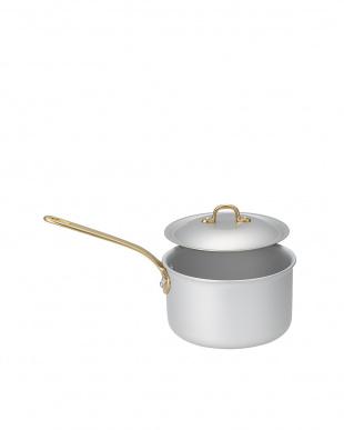 ガス専用 アルミアルマイト片手鍋(15cm)見る