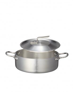 ガス専用 極厚アルミ外輪鍋(27cm)見る