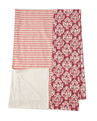 フレンチハープ(ピンク)  シングル掛け布団カバー見る