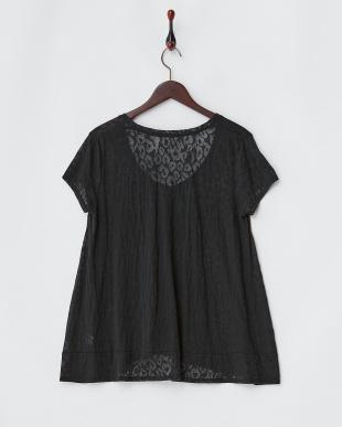 ブラック  レオパードオパールTシャツ見る