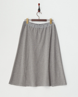 GRAY  LOIS カットロングフレアスカート|WOMEN見る