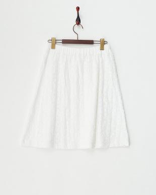WHITE  LIZ レーススカート|WOMEN見る
