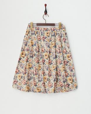FLORAL  CELINE バルーンスカート|WOMEN見る