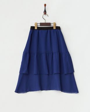 BLUE  RUTH ダブルギャザーシアースカート|WOMEN見る