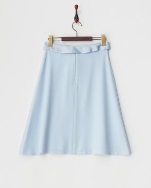 ブルー  タックフレアスカート見る