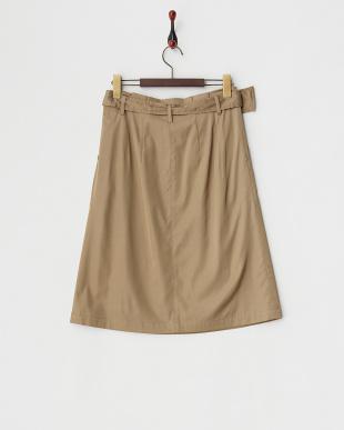 ベージュ ハイパワーサテンスカート見る