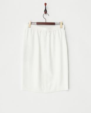 ホワイト アイアスニューマットスカート見る