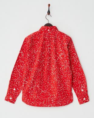 RED オックフォード プリントシャツ見る