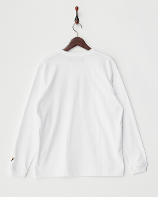 WHITE グラフィックプリントロンTEE見る