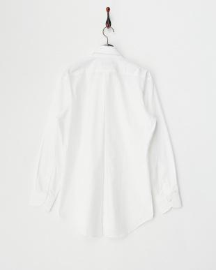 ホワイト  ロングスリーブシャツ見る