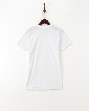 ホワイト コットンTシャツ LL見る