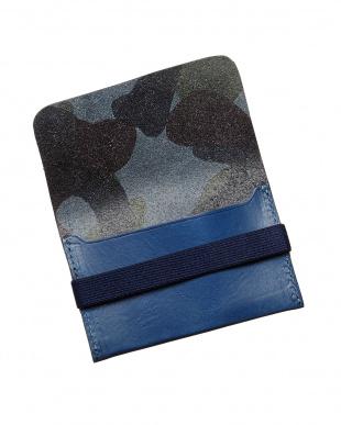 BLUE  カードケース見る