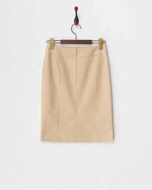 ベージュ WフェイスSTピーチバイオ ショートスカート見る