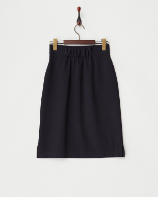 NAVY  両サイドスリットタイトスカート見る