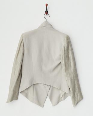 grey PLEXUS STNG ショールカラージャケット見る