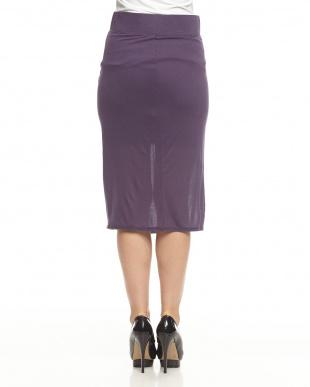 purple ENTITY ジャージースカート見る