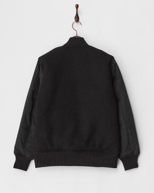 ブラック 中綿グランドジャケット見る