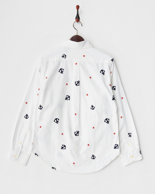OFF WHITE  総柄刺繍OXシャツ見る