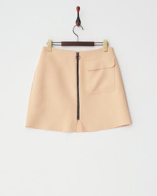 PEACH P:CREPE PATCH ALINE スカート見る