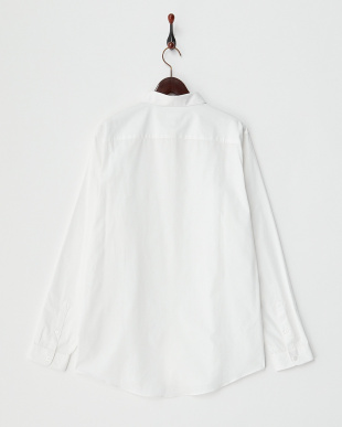 WHITE 丸襟 長袖シャツ見る