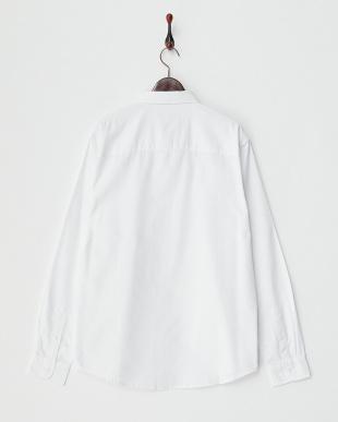 WHITE  ボタンダウンシャツ見る