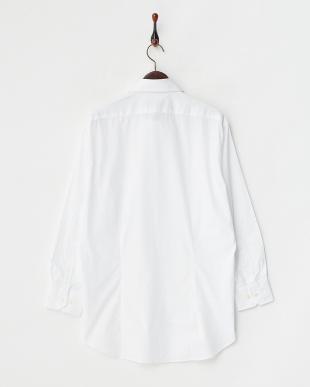白無地 ボタンダウンワイシャツ見る