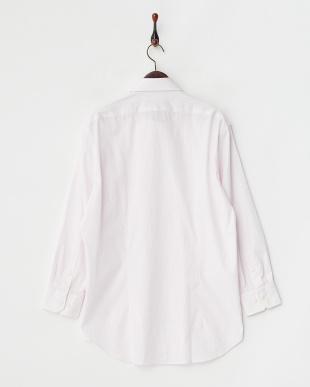 ピンクストライプ ボタンダウンワイシャツ見る