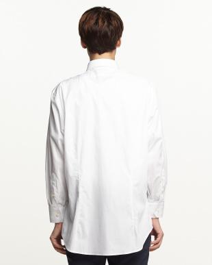 白無地 レギュラーカラーワイシャツ見る