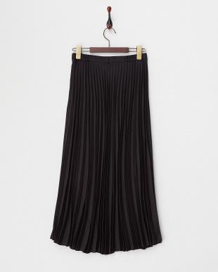 ブラック  アコーディオンプリーツスカート見る