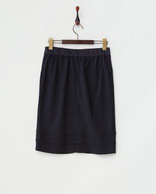 ネイビー  カノコ スカート見る
