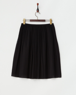 ブラック クリスタルプリーツ スカート見る