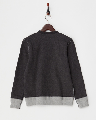 CHARCOAL CREW NECK SWEAT見る