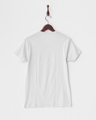 ホワイト  PURE COTTON クルーネックTシャツ見る
