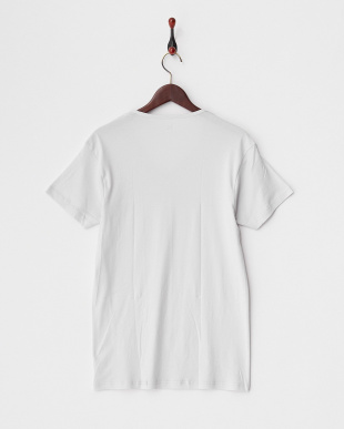 ホワイト  PURE COTTON VネックTシャツ見る