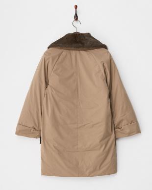 ベージュ  Fur Collar Coat見る