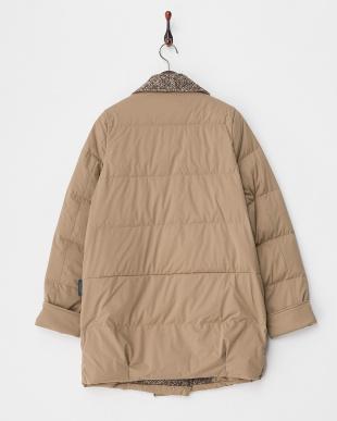 ベージュ  Tweed Lapel Coat見る